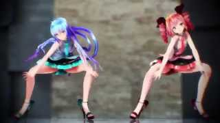 Repeat youtube video 【MMD】Shake It Off【Tda式改変ミク、テト】