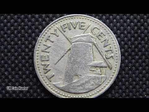 Barbados - 25 Cents Coin - 1973