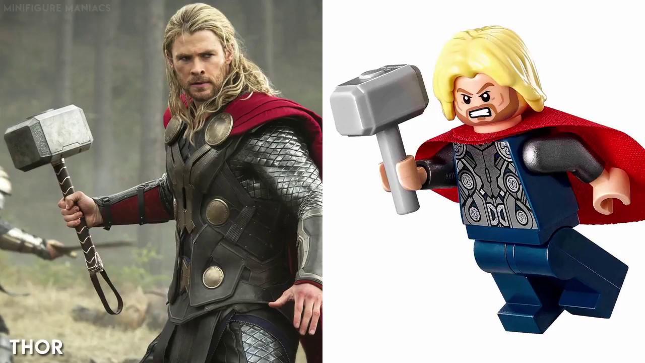 Minifiguren Marvel Action Figuren Justice League Film Iron Man Spielzeug Thor