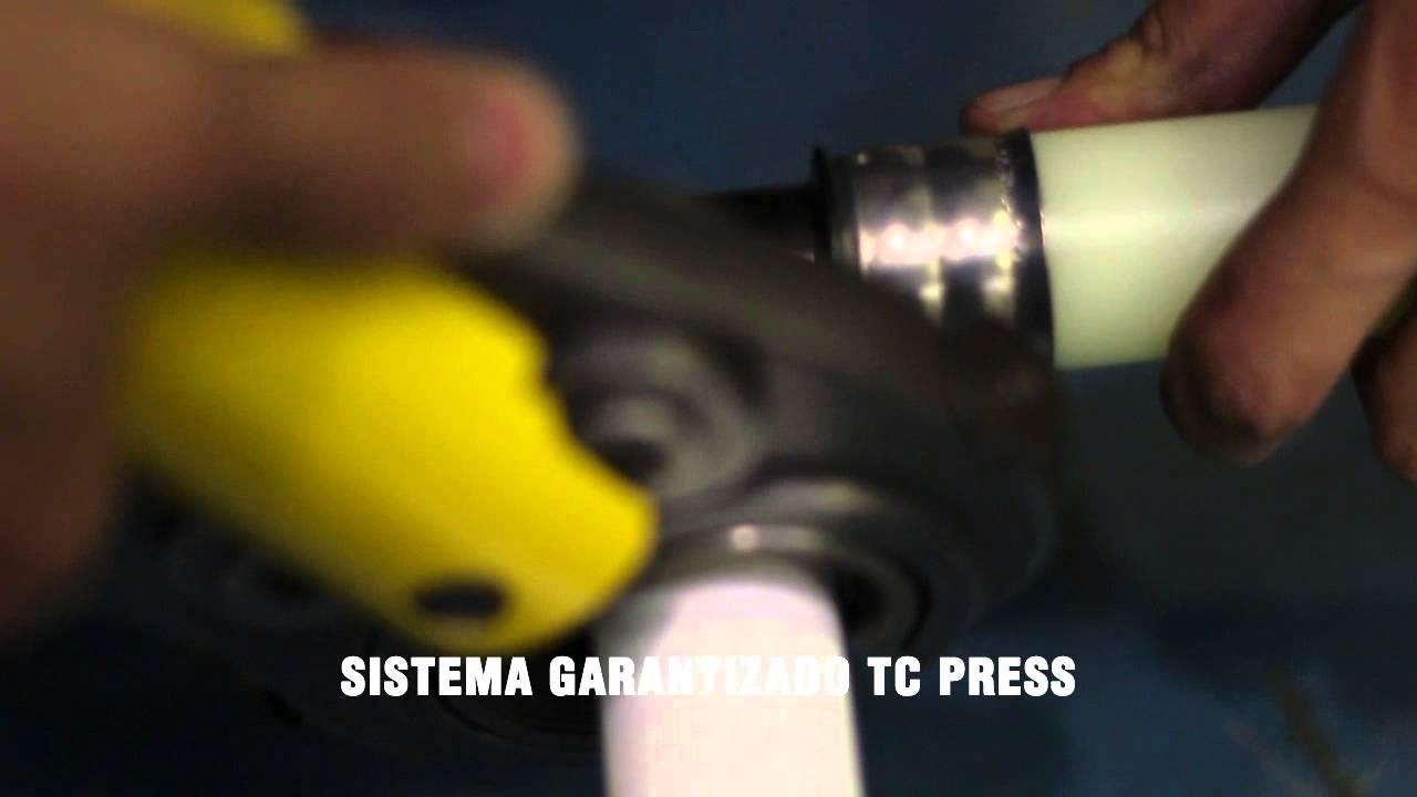 Polytherm calefacci n por suelo radiante press fitting - Suelo radiante polytherm ...