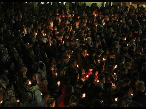 Candlelight Vigil Honors Deah Barakat, Yusor Abu-Salha and Razan Abu-Salha