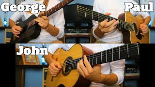 The End Solo - The Beatles - Acoustic Guitar Cover