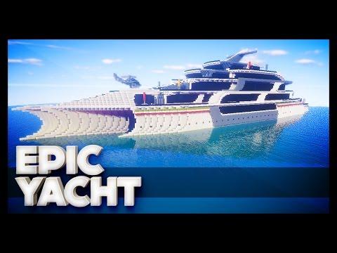 Minecraft - Epic Yacht
