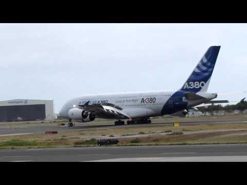 Airbus A380-861 F-WWDD Honolulu Arrival (12/09/12)