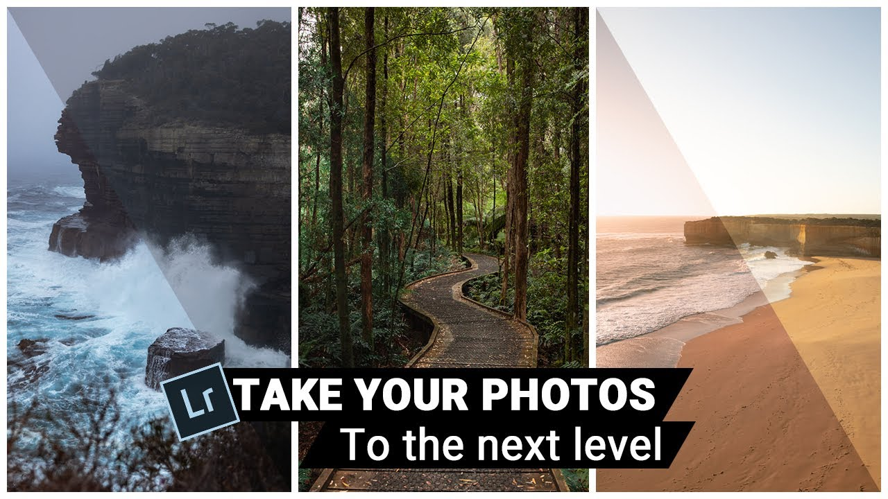 LEVEL UP YOUR PHOTOS with Lightroom