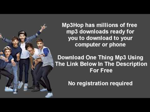 One Direction One Thing Mp3 Download
