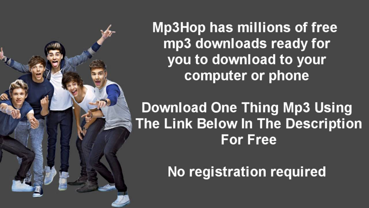One direction – one thing music video watch and download | free.