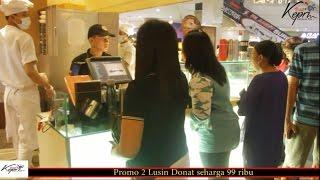 Download Video Anniversary JCO Ke 10 Promo 2 Lusin Donat Seharga 99 Ribu MP3 3GP MP4