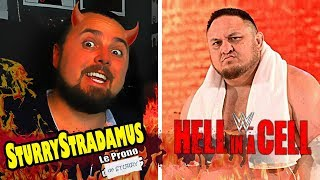 [Sturrystradamus] Le Prono de WWE Hell in a Cell 2018