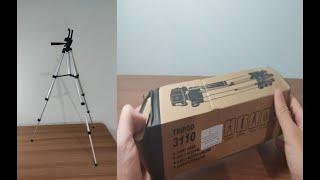 Heider Telefon ve Kamera Tutucu Tripot Ayak 105 cm [TRİPOD 3110]