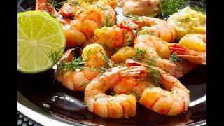 Как готовить креветки. Shrimp 2020 new