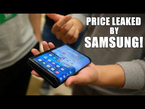 Samsung Foldable Phone Price LEAKED AGAIN | Infinity O display