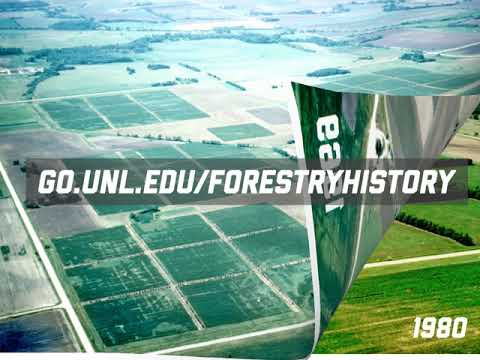Pictorial look at the history of forestry research at ENREC - https://go.unl.edu/forestryhistory