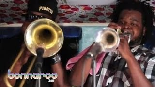 Wind It Up - Stooges Brass Band - Jam in the Van | Bonnaroo365