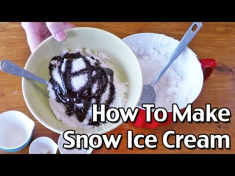 Ridder - 3 Delcious Treats To Make With Snow