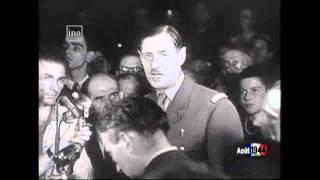 Le retour du général De Gaulle dans Paris libérée