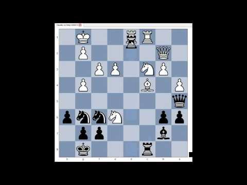 Houdini 1.5a ( free version) vs Deep HIARCS - Adelaide 2012