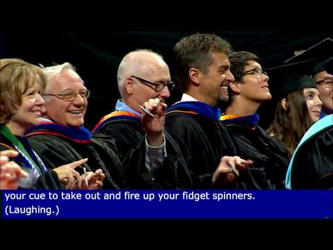President W. Kent Fuchs Commencement Speech