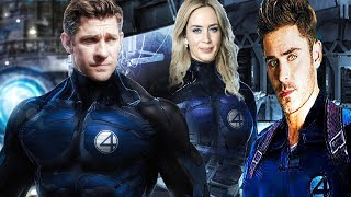 So have some fantastic four news within this video john krasinski,emily blunt,the rock & zac efron.will the debut during antman 3. #fanta...