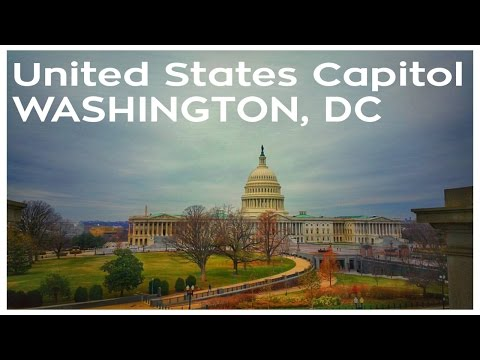 My Visit To The United States Capitol in Washington, D.C | VLOG 013