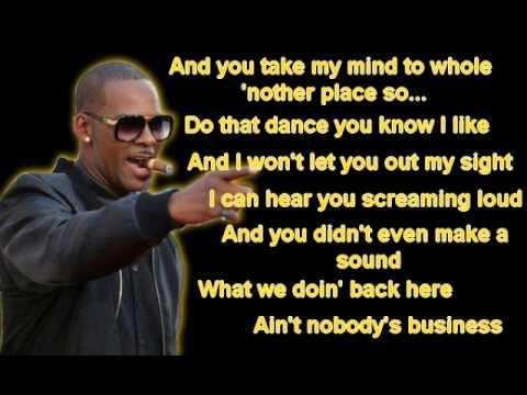 R. Kelly - Throw this money on you (Lyrics)