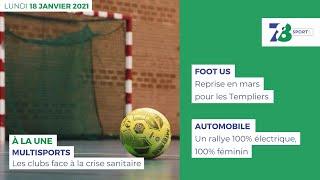 7/8 Sports. Emission du 18 janvier 2021