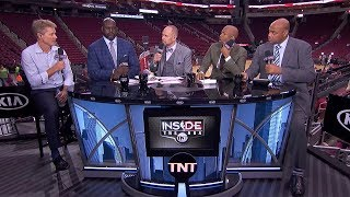 Steve Kerr Joins Inside the NBA