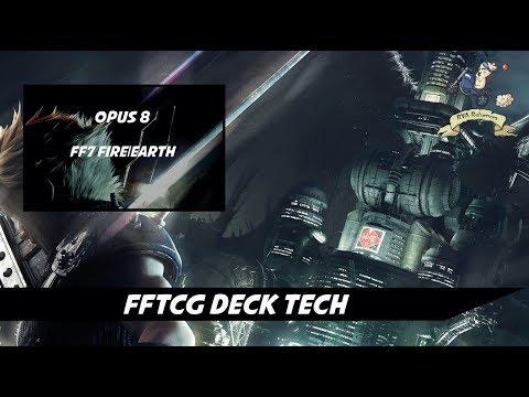 Final Fantasy TCG Deck Tech - Fire/Earth FF7 Tribal