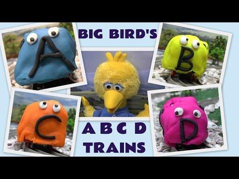 Sesame Street ABC Play Doh Thomas & Friends Big Bird Cookie Monster Alphabet Song Guess Engine Kids