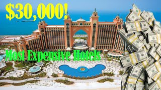 Top 10 Most Expensive Hotel Rooms In The World (2018 NEW)