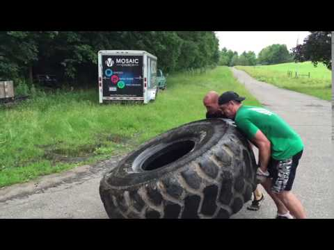 900lb Tire Flip
