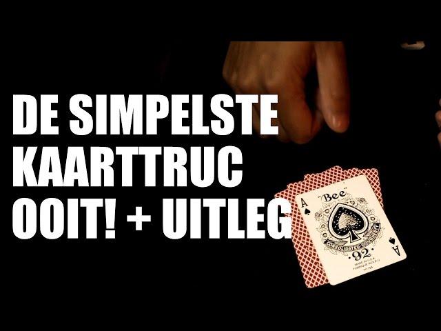 DE SIMPELSTE KAARTTRUC OOIT + UITLEG!!!