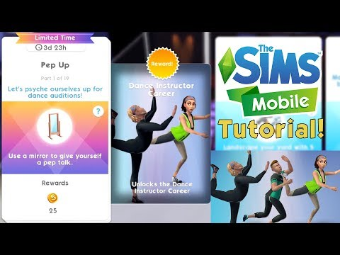 The Sims Mobile | How to UNLOCK the Dance Instructor Career 💃 | Limited Time Quest Walkthrough!