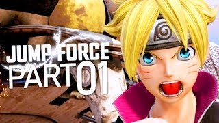 Jump Force (Full Game) | Gameplay Walkthrough Part 1 - STORY MODE! (PS4 PRO)
