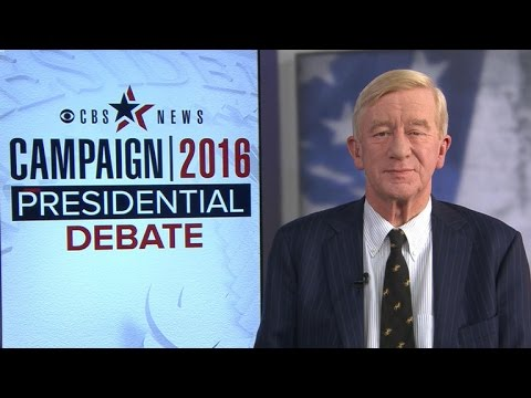 Interview with Libertarian party VP nominee Bill Weld