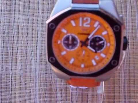 botella tuberculosis módulo  Carrera reloj sport orange.AVI - YouTube