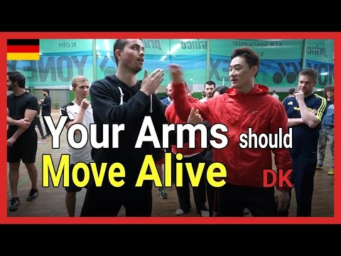 Your arms should move alive - DK Yoo