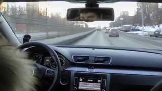 VW Passat тест обзор(Volkswagen Passat B7 является глубоким рестайлингом модели с индексом B6. Машина комплектовалась тремя уровнями..., 2014-01-31T22:04:35.000Z)