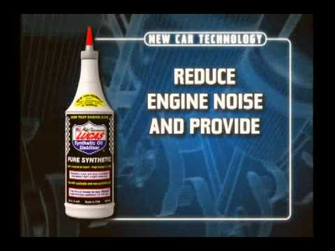 Lucas Oil - Pure Synthetic Oil Stabilizer - Animated