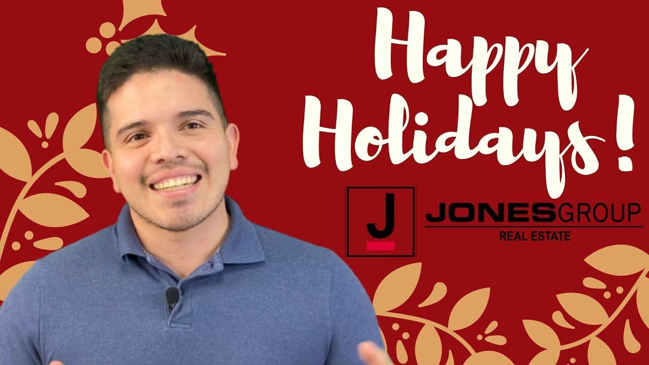 HAPPY HOLIDAYS   JOSHUE MERIZALDE   JONES GROUP REAL ESTATE