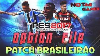 PES 2017 - OPTION FILE BRASILEIRÃO (TIME BRASILEIROS ATUALIZADOS) PATCH - PS4