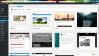 Wootron Wordpress theme - installation video manual
