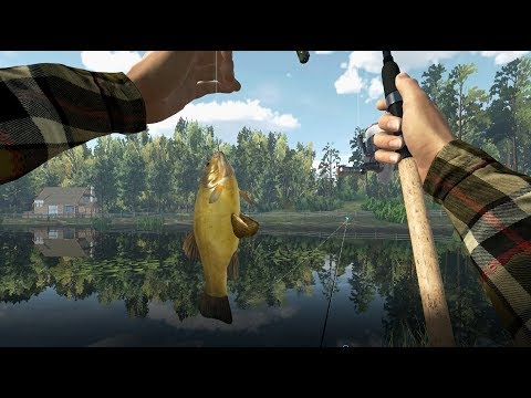 Fishing Planet-Ловля на фидеры, поиск рыбы пруд Лесни Вилла (Чехия)