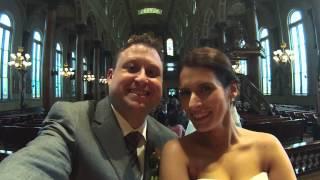 Tim and Casey's wedding.