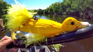 Fishing A Duck Lure For MONSTER Pike!