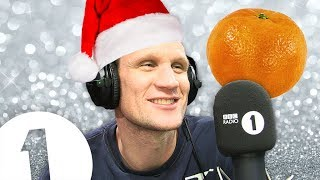 Matt Smith plays the XMAS CLEMENTINE GAME
