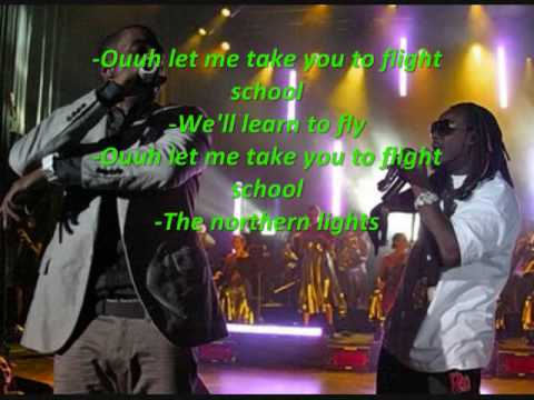 Flight School remix (2009) Kanye West ft. T-pain & Khrys Lawson + *LYRICS*
