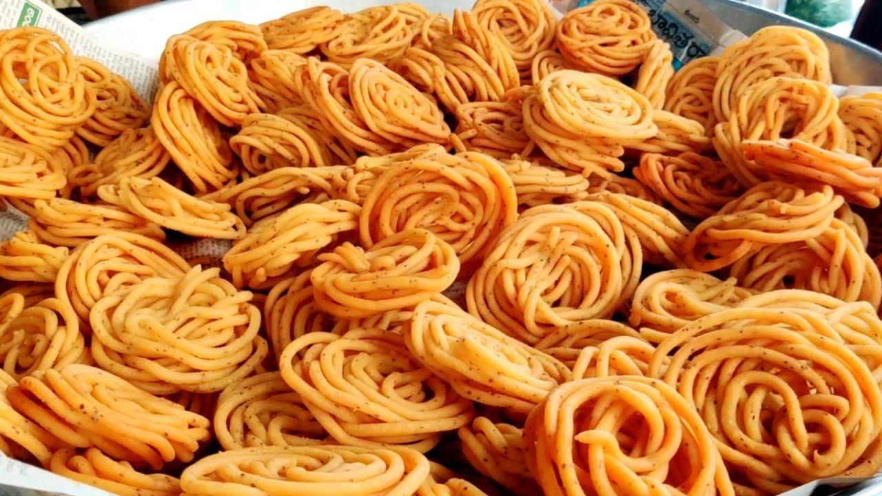 Sweet Shop Style Janthikalu Or Murukku Recipe | Perfect Jantikalu Recipe Step By Step | Indian Food