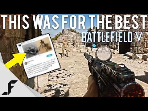 This was for the best Battlefield 5