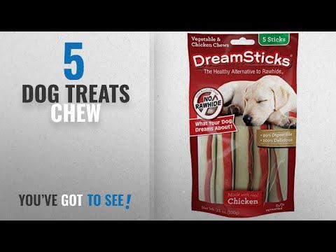 top-5-dog-treats-chew-[2018-best-sellers]:-dreamsticks,-vegetable-&-chicken-chews,-rawhide-free,